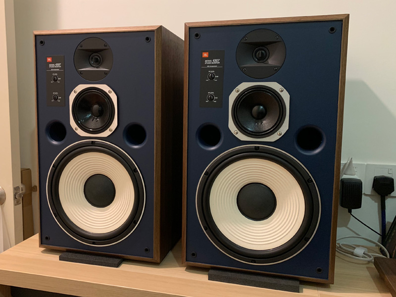 [SOLD] JBL 4307 Studio Monitor Loudspeaker ( Apr 26 - added more photo) Jbl43_10