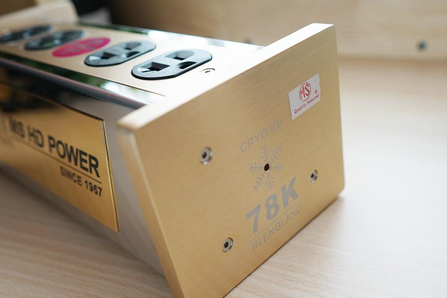[SOLD] MS HD Power MS-US04SRHK 78K Rhodium 4-Ways US Filter Socket Rhk_0410