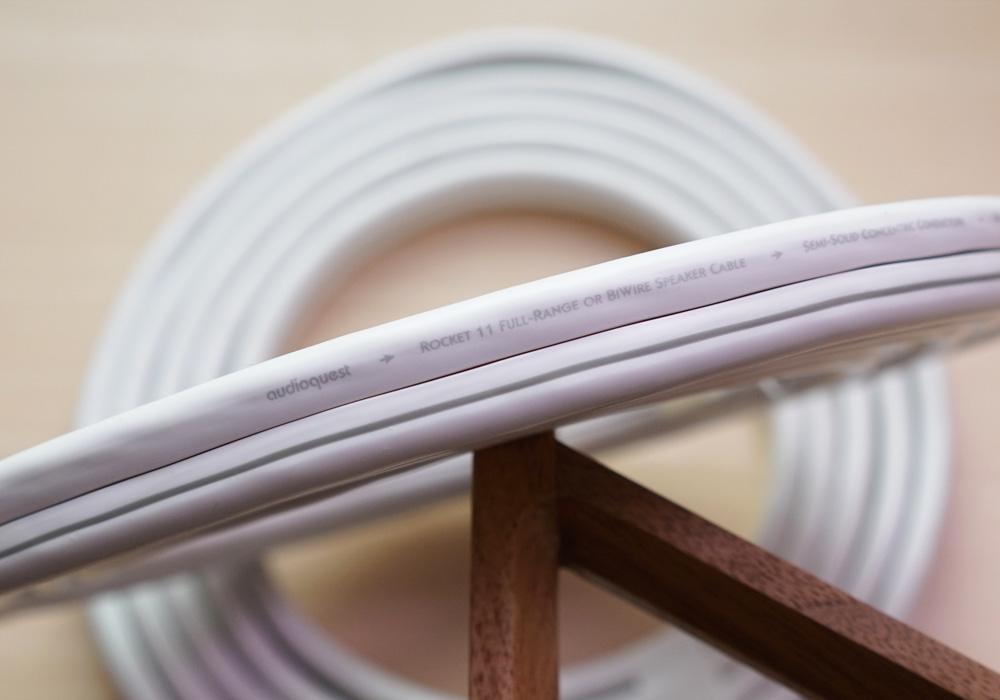 [SOLD] Audioquest Rocket 11 Speaker Cable (2.5 meter each / Total 5 meter) Roc11_14