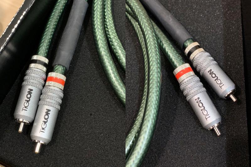 [SOLD] Tiglon MGL-R1 RCA cable (1 meter) Tig_0210