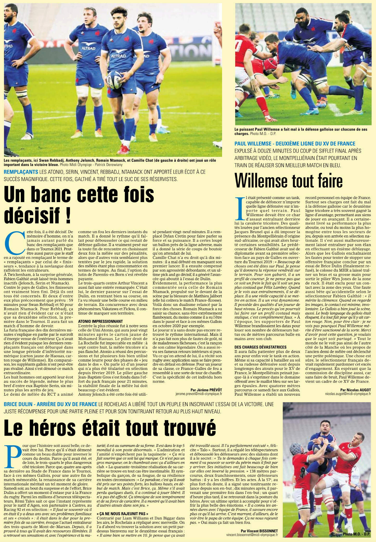 Le XV de France (partie en cours) - Page 6 Capt1099