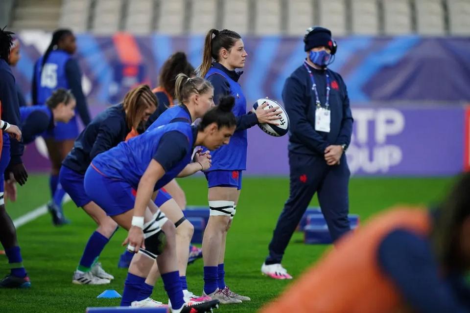 XV de France féminin Capt1171
