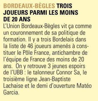 Equipes de France Jeunes - Page 9 Capt1363