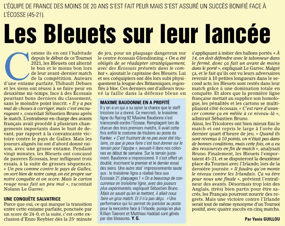 Equipes de France Jeunes - Page 12 Capt1386