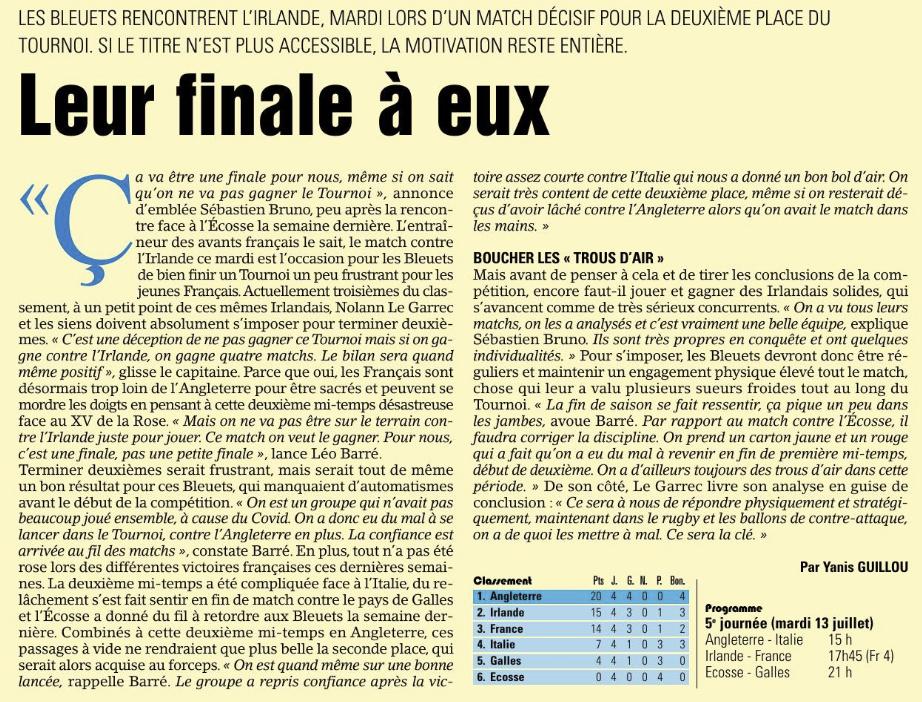 Equipes de France Jeunes - Page 12 Capt1391
