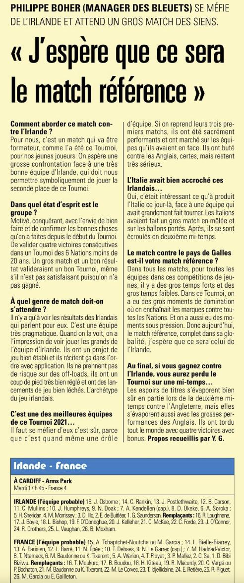 Equipes de France Jeunes - Page 12 Capt1392