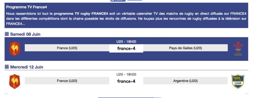 Equipes de France Jeunes - Page 5 Captu176