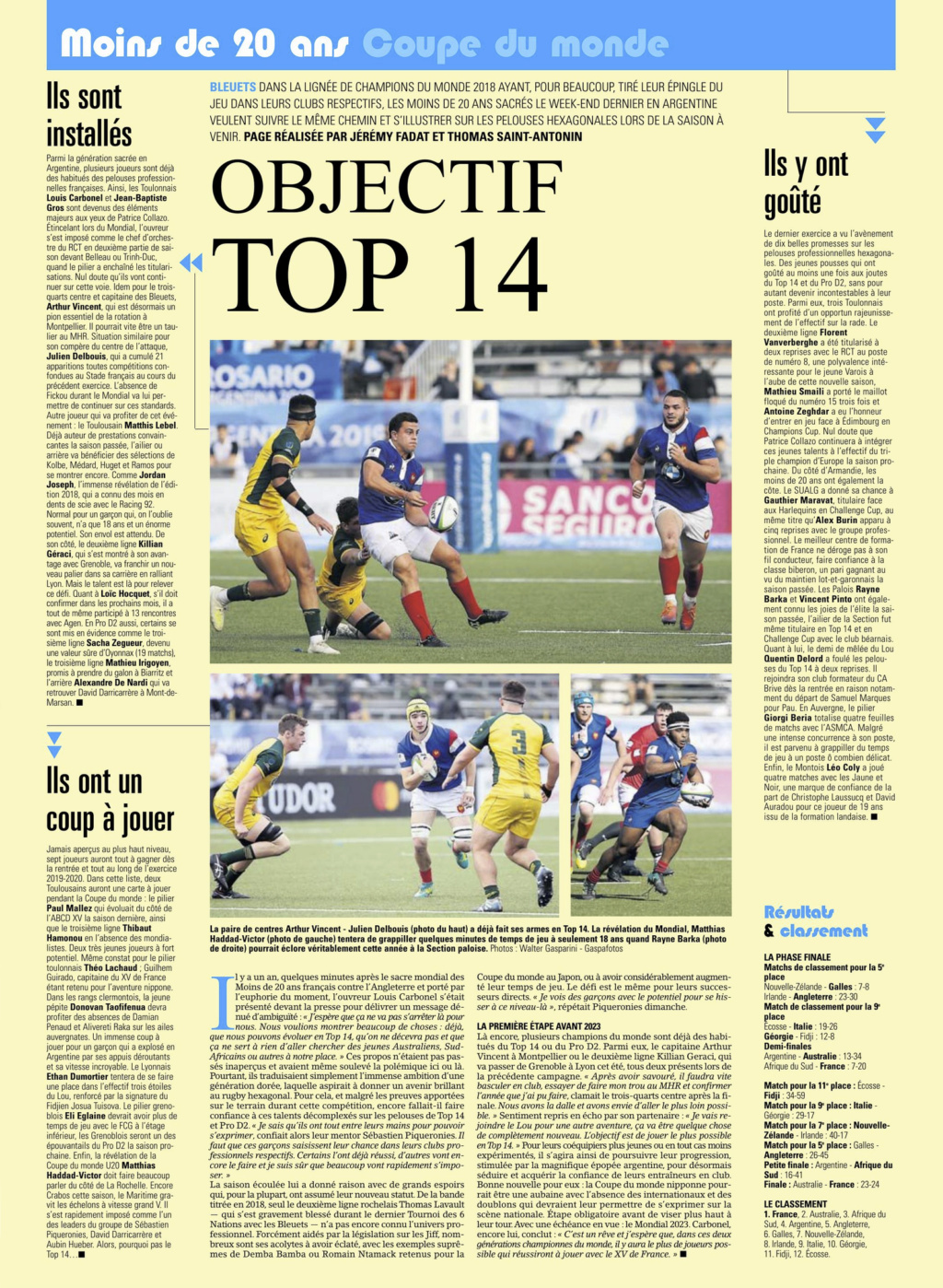 Equipes de France Jeunes - Page 6 Captu207