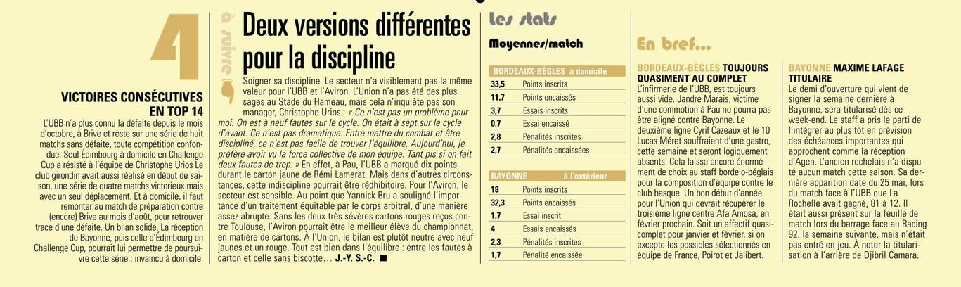 Top14 - 13ème journée : UBB / Aviron Bayonnais - Page 4 Captu321