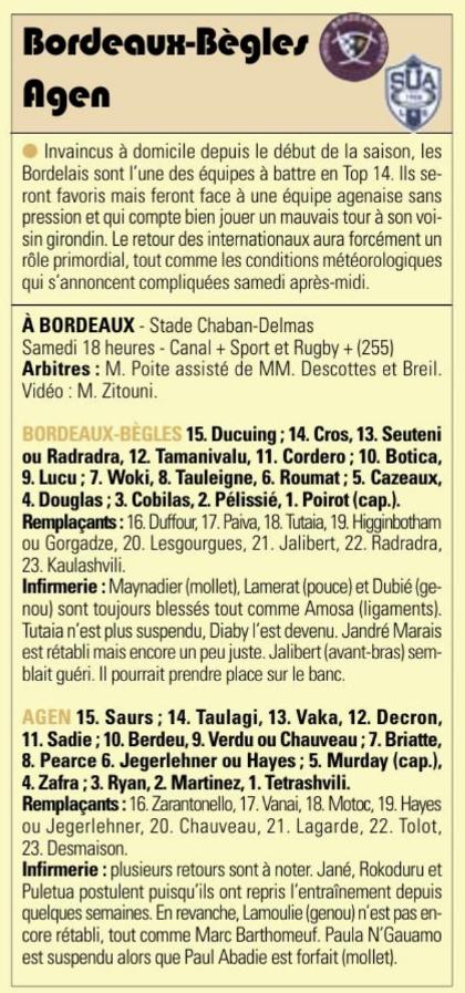 Top14 - 9ème journée : UBB / Agen - Page 6 Captu504