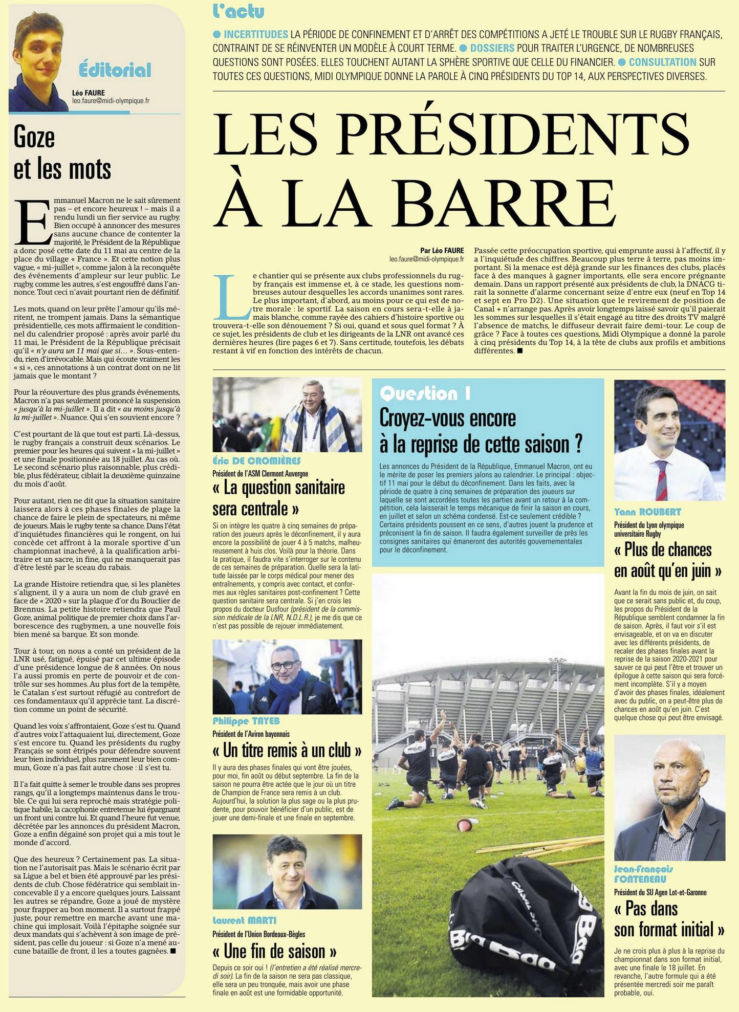 Top14 - Fin de saison 2019-2020 - Page 12 Captu612