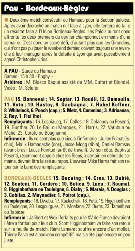 Top14 - 5ème journée : PAU / UBB - Page 7 Captu744
