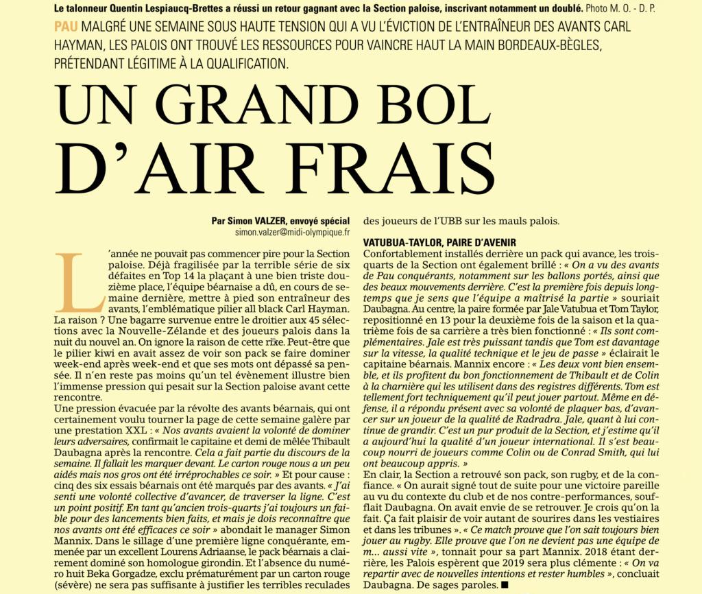Top14 - 14ème journée : Pau / UBB - Page 11 Captur13