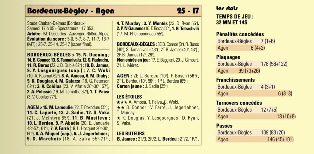 Top14 - 15ème journée : UBB / Agen - Page 6 Captur30