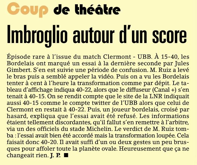 Top14 - 16ème journée : CLERMONT / UBB - Page 4 Captur38