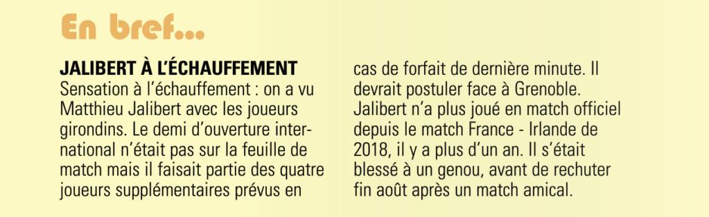 Top14 - 16ème journée : CLERMONT / UBB - Page 4 Captur40