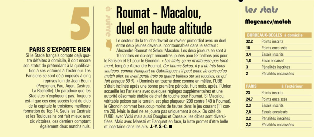 Top 14-19ème journée : UBB/Stade Français - Page 2 Captur72