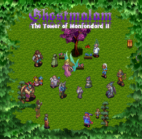 Ghostmalam : the tower of Monfondord II Couver11