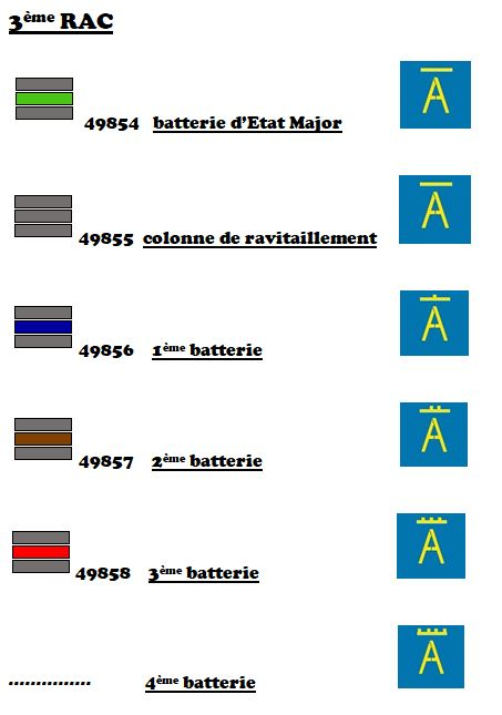 Marquages de la 2ème DB 10-tqm12