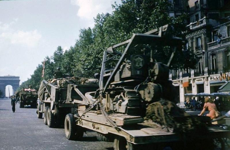 """vieux sujet ( buldozer et Sherman """" Paris """" ) 18620110"""