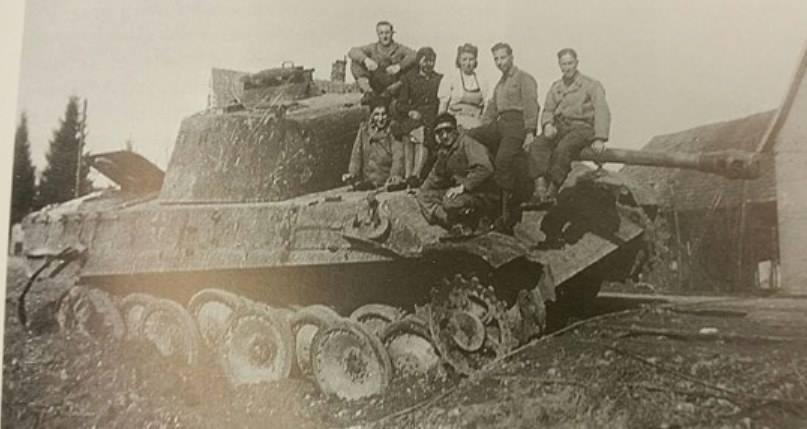 combat d'OBENHEIM / GERSTHEIM fin novembre 1944 36900010