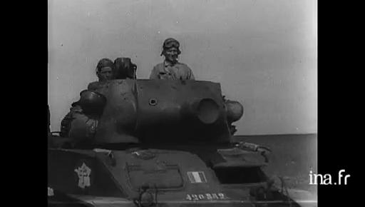 Vidéo du 1er RMSM en juillet 1944 - Colonel Rémy 42085210