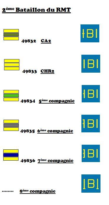 Marquages de la 2ème DB 6-ii_r12