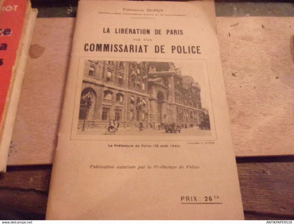 La libération de Paris vue d'un commissariat 733_0010