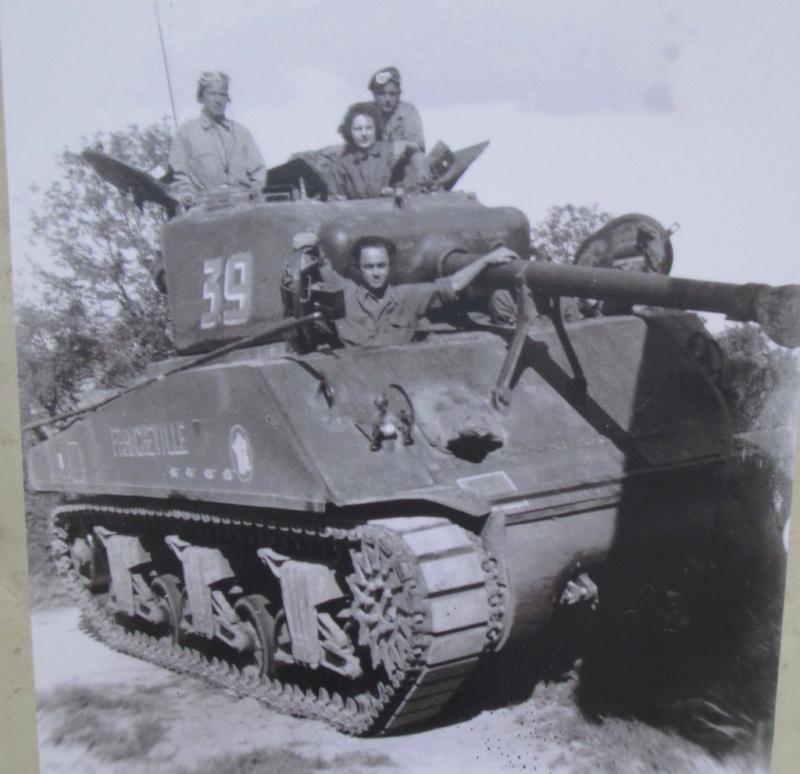 Taille et position des marquages d'un Sherman de la 2ème DB  82320611