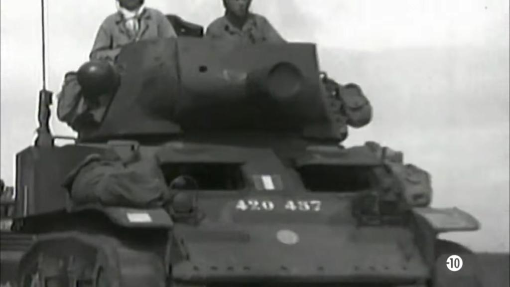 Vidéo du 1er RMSM en juillet 1944 - Colonel Rémy Captur10
