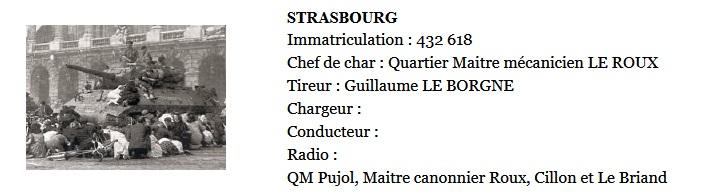 Libération de Strasbourg. Char TD M10 le Strasbourg  Screen43