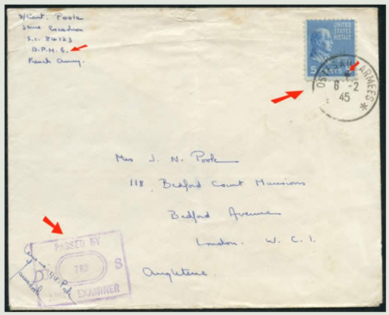 501e RCC : secteur postal en 1944 Screen95