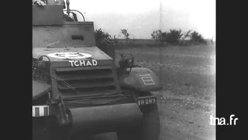Vidéo du 1er RMSM en juillet 1944 - Colonel Rémy Tchad_10