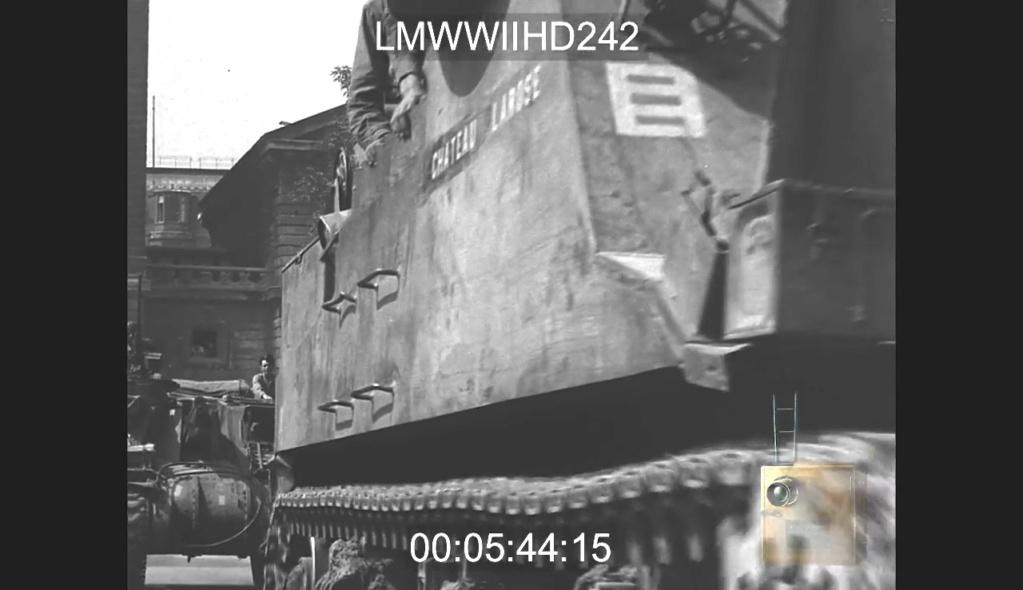 Marquages de la 2ème DB Vlcsna19