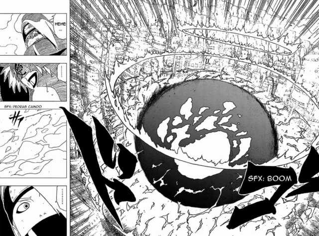 Deidara vs Gengetsu. C310