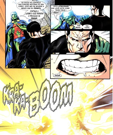 Adão negro vs caçador de Marte x Supergirl Cazado11