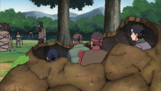 Chiyo Vs Kurotsuchi, Shizune, Anko, Ino e Kurenai Czpula12