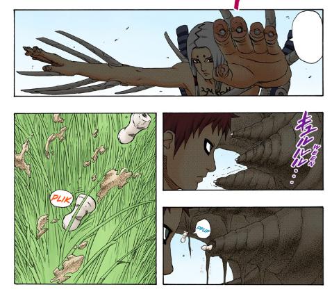 Gaara e Sasuke vs Sasori e Deidara Gaara_14