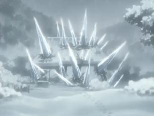 Zabuza e Haku vs Shizune,Anko,Aoba e Ebisu Hissat11
