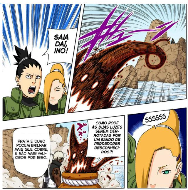 Citem 5 shinobis abaixo de Kage baixo que venceriam a Tsunade - Página 2 Ino_vs11