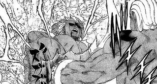 Orochimaru vs Yondaime Raikage Juugo_19