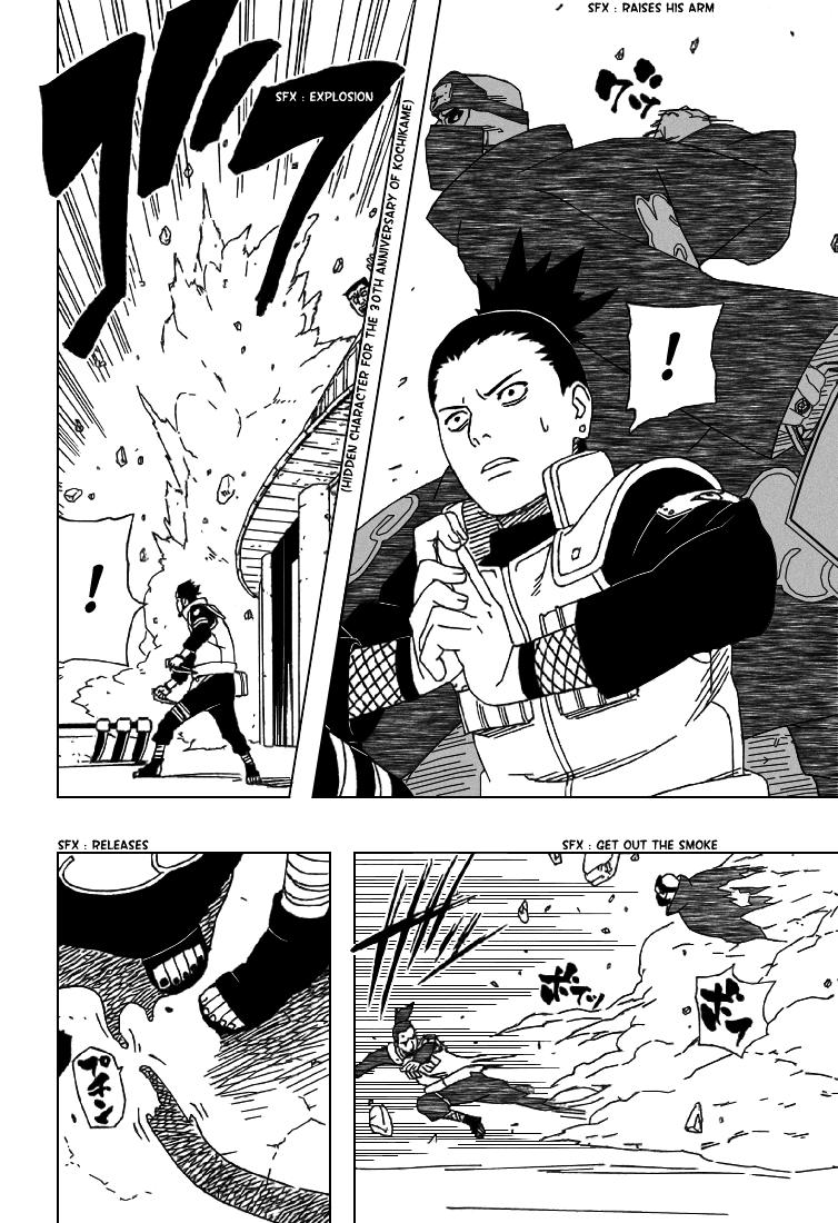 Chyio,mei e kurotsuchi vs hidan e kakuzu Kakuzu11