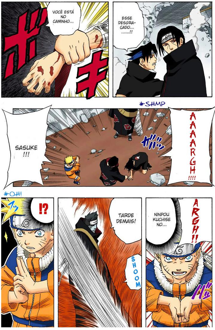 Tsunade vs Itachi e Kisame (Clássico) Kisame16