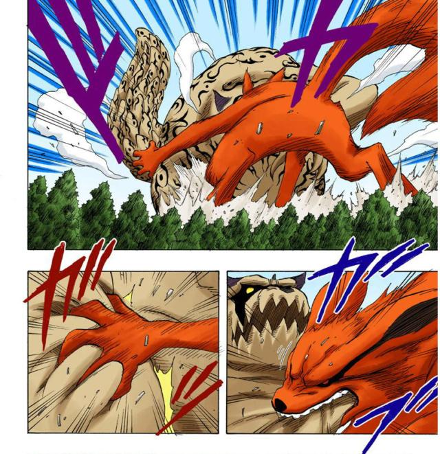 Shukaku vs kurama Kurama10