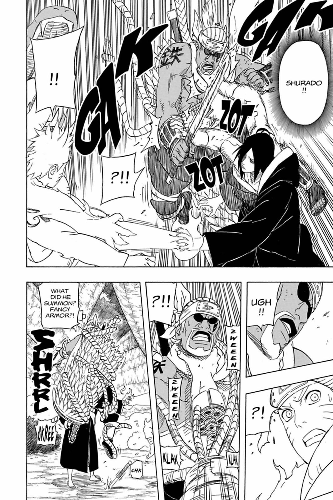 Nagato e Konan vs 5 Kages Nagato11