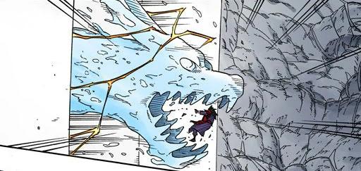 Orochimaru vs Yondaime Raikage Projzo11