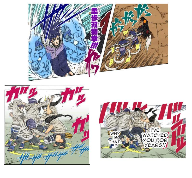 Hinata vs Kabuto parte 1 Sandai11