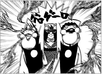 Gamaguchi Shibari e Gamarinshou podem ser usados na prisão de água do Kisame?  Sapos_10
