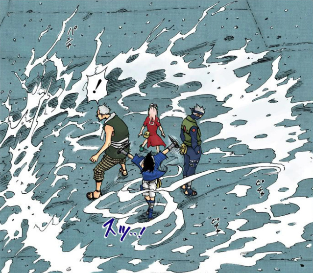 Chojuro vs. Zabuza Sasuke23