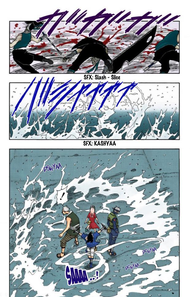 Sasuke e Sakura vs Kiba e Shino Sasuke30